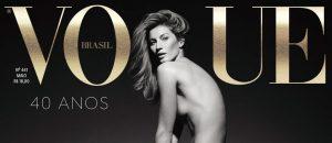 Foto de Gisele Bündchen na Capa da Vogue Brasil é Uma das Mais Comentadas! Confira!