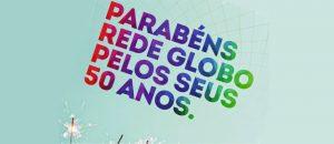 SBT Faz Anúncio Parabenizando a Globo Por Seus 50 Anos E Vira Sucesso Na Internet!