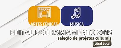 SESI Seleciona espetáculos de Música e Artes Cênicas.