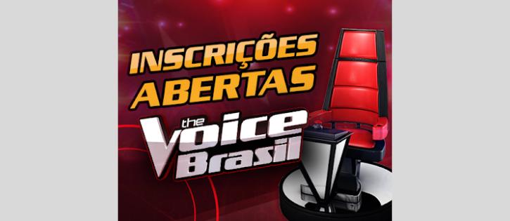 Estão abertas as inscrições para o 'The Voice Brasil'