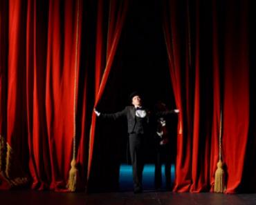 Vagas abertas para artes de palco! Inscrições até quarta! Cursos gratuitos!