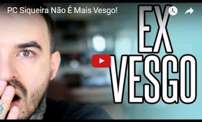 Youtuber PC Siqueira não é mais 'vesgo'!