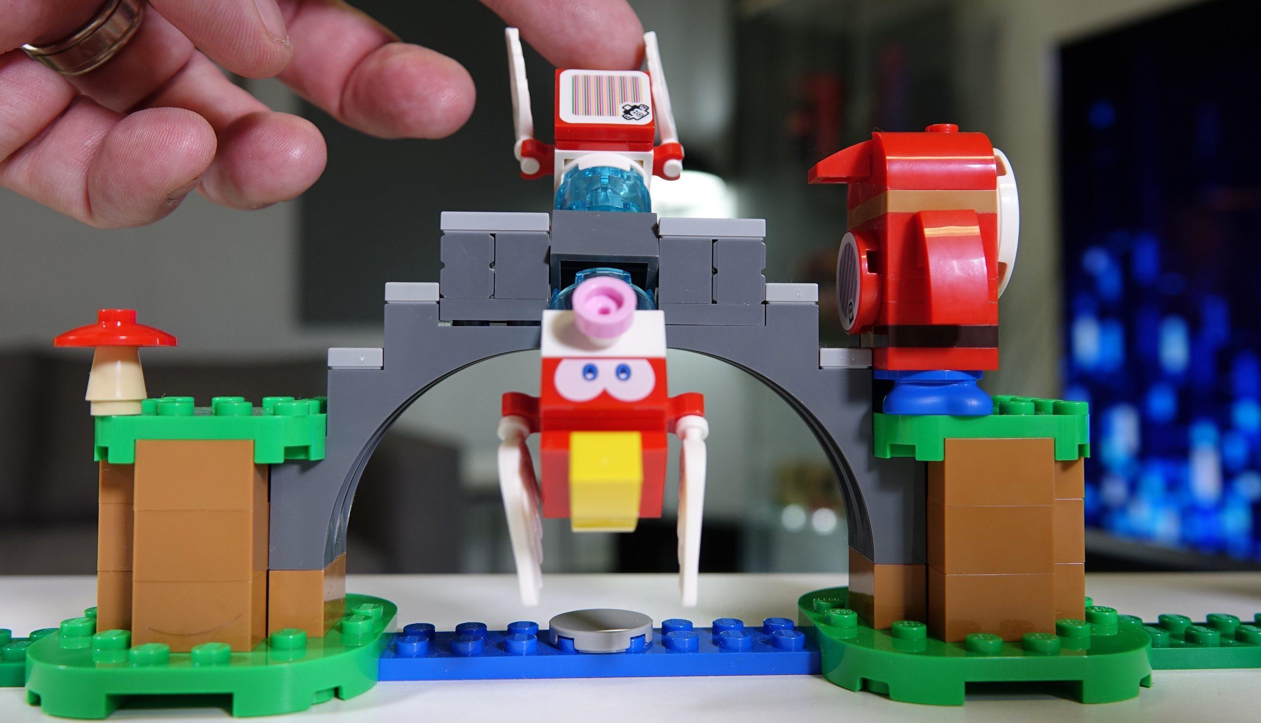 O Mario virou lego!