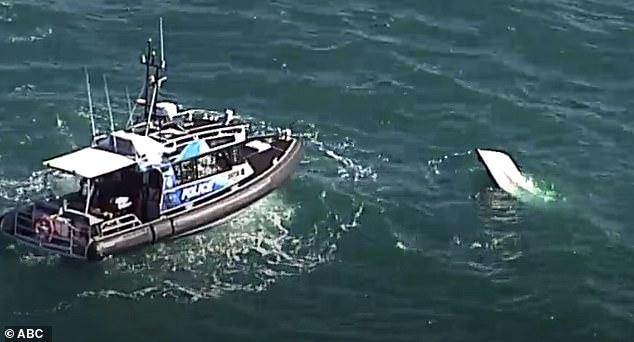 Dois homens morrem depois que o barco em que estavam pescando virou no meio do mar