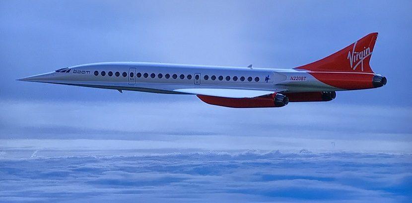Retorno de voos supersônicos na aviação comercial