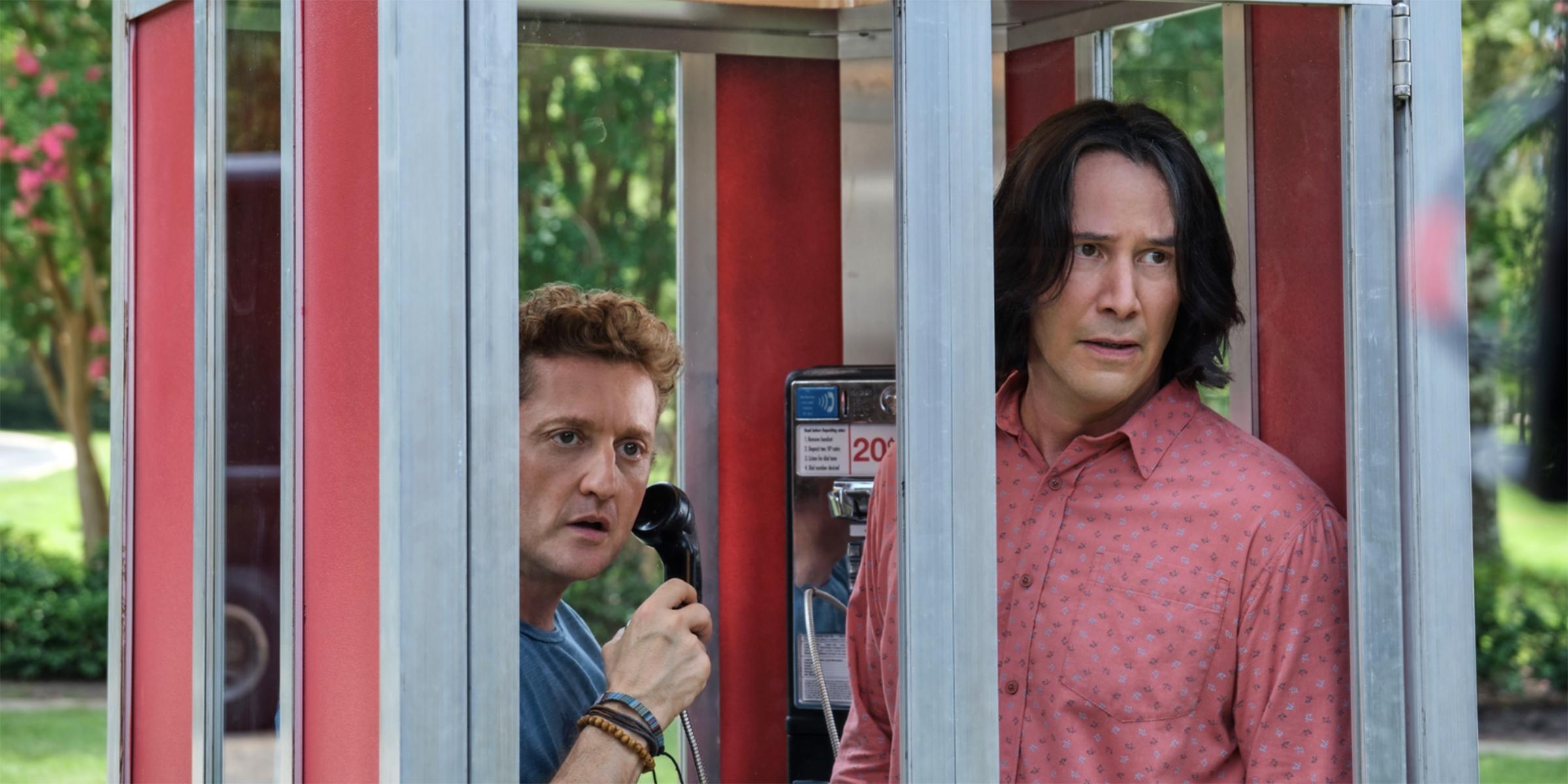 Keanu Reeves e Alex Winter falam sobre seu novo filme que chegará aos cinemas