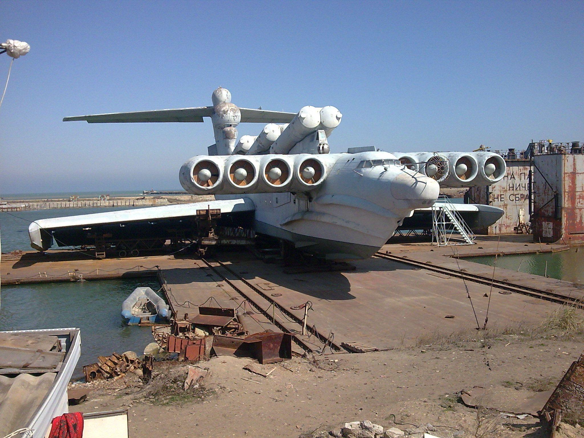 Super avião russo vira atração turística