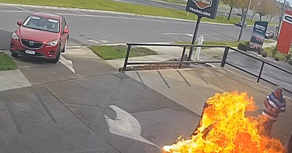 Harley-Davidson Traralgon: man saves store from alleged arson attack