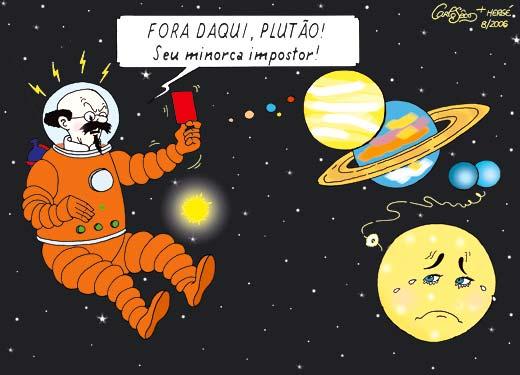 Plutão quer voltar no tapetão | A Lua Tristonha