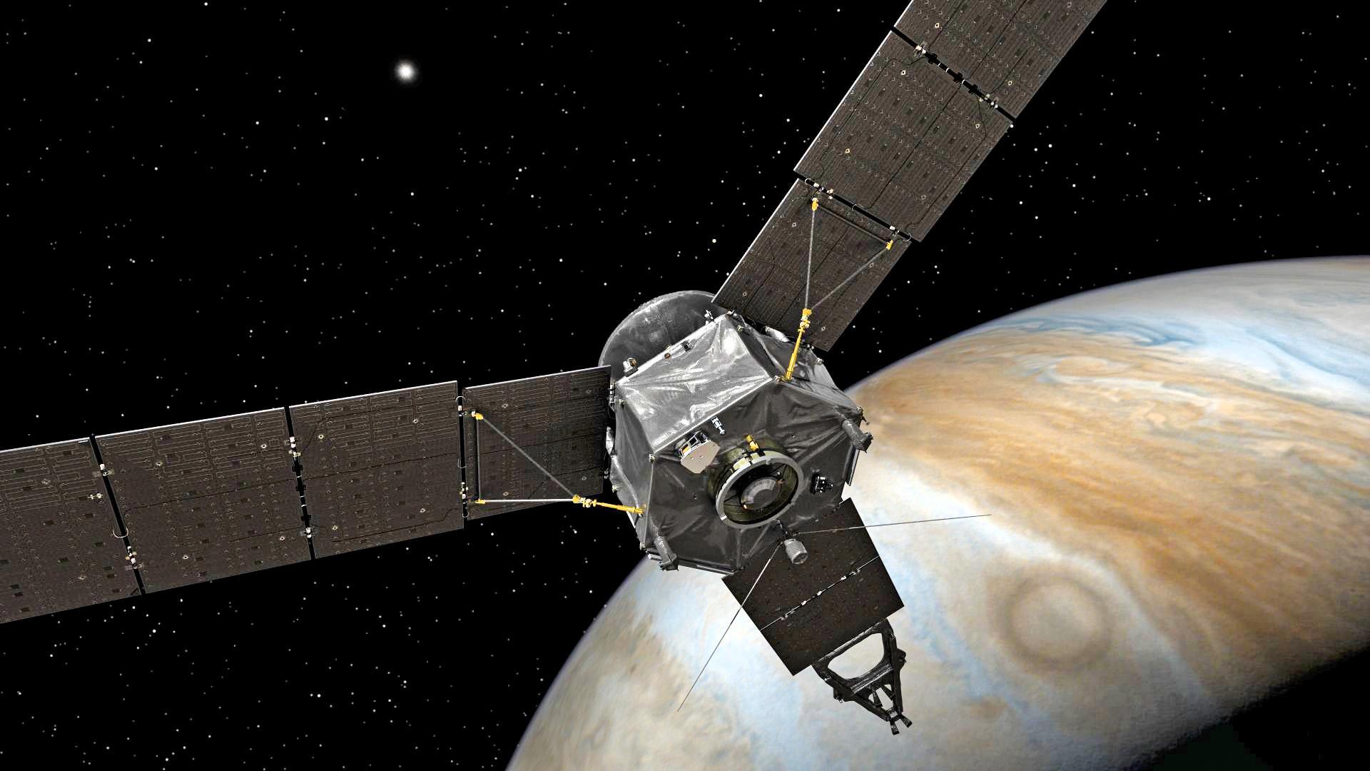 Cientistas produzem uma das fotos mais nítidas de Júpiter