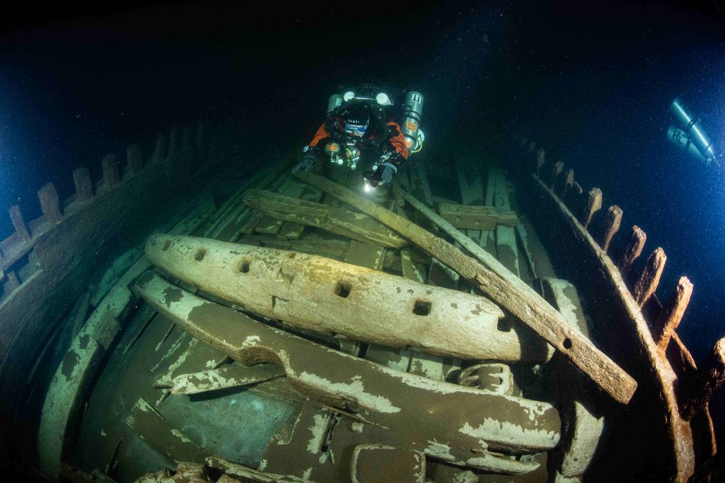 Naufrágio com mais de 400 anos é encontrado em perfeito estado no Mar Báltico