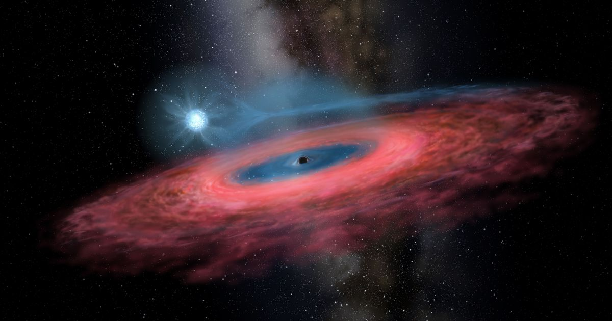Enormes buracos negros podem ser na verdade buracos de minhoca atravessáveis