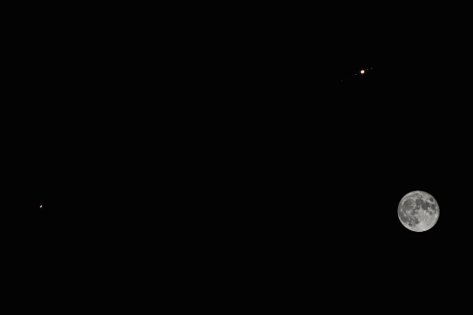 Após 800 anos Júpiter e Saturno se alinharão criando a verdadeira estrela de Natal