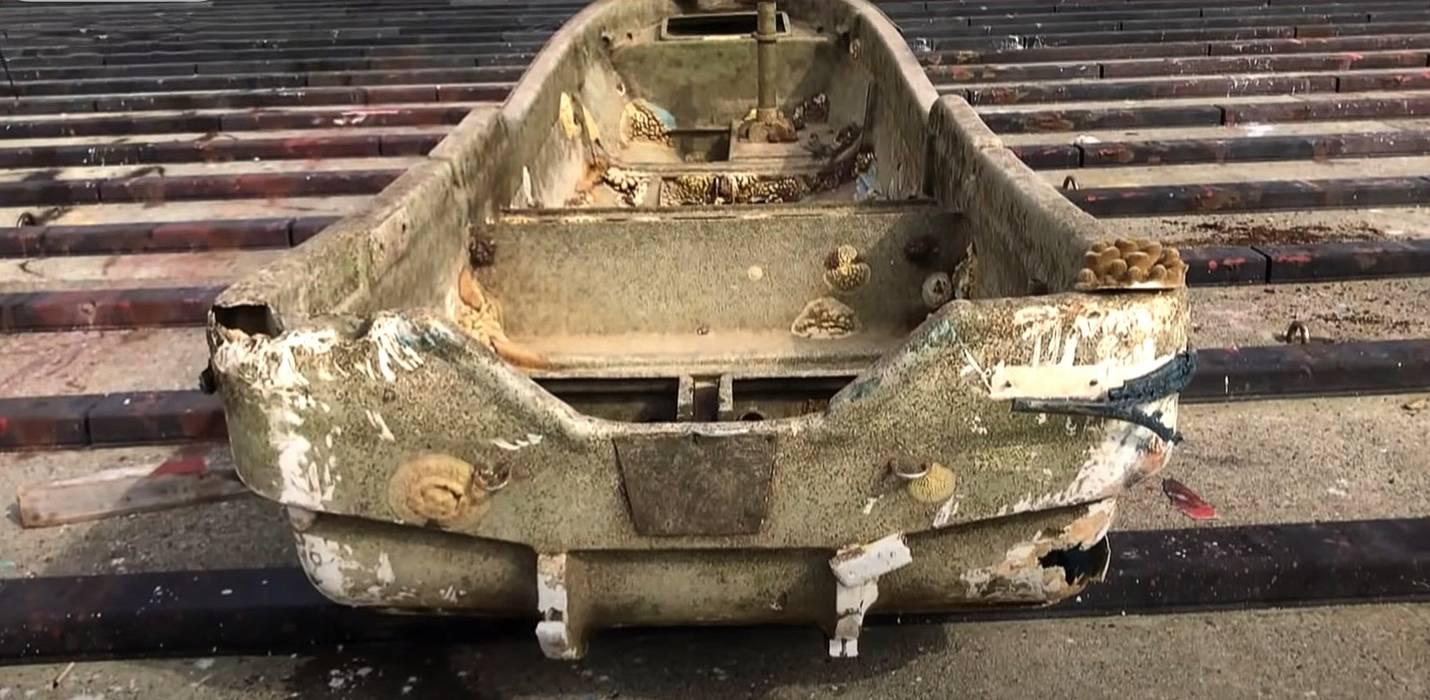 Barco reaparece 10 anos depois do Tsunami no Japão