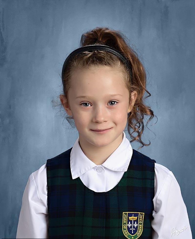 A menina de sete anos 'mais forte do mundo'