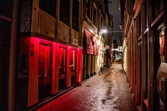 Amsterdã revela planos para a realocação da 'zona vermelha' do centro