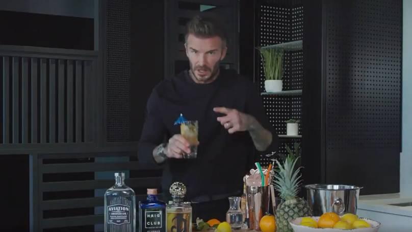 David Beckham, Ryan Reynolds e Diddy se juntam numa fabulosa campanha