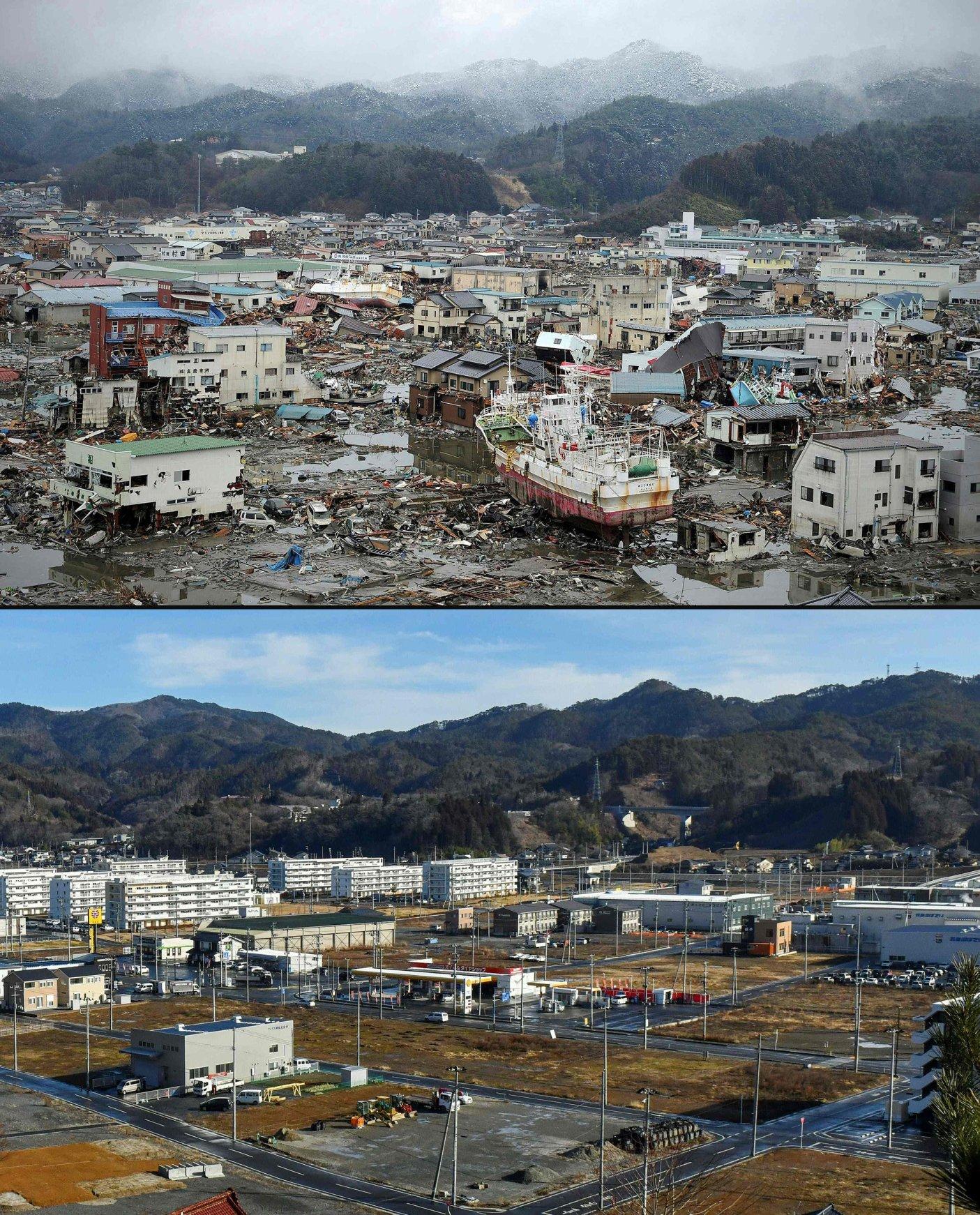 Dez anos após o tsunami que causou devastação na região de Fukushima